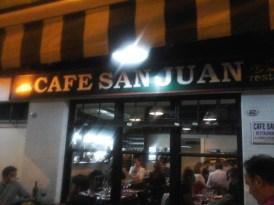 Canelones de molleja en Café San Juan