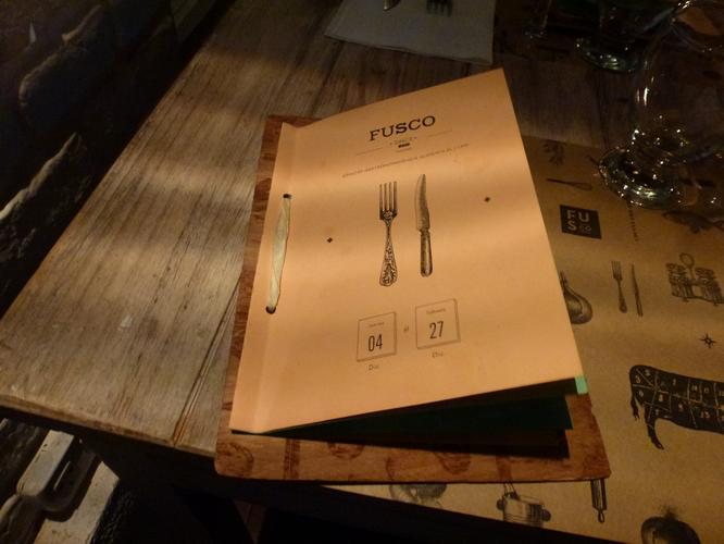 Fusco, un restaurante cool que hay que visitar