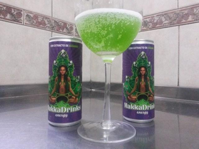 Makka Drinks, un energizante con cáñamo