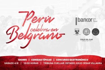 3er Concurso de Comida Peruana en el Club Atlético Belgrano