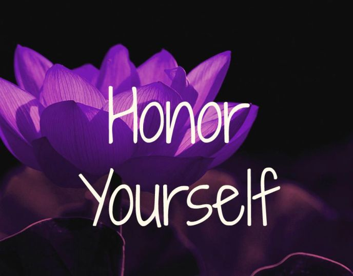 Honoryourself