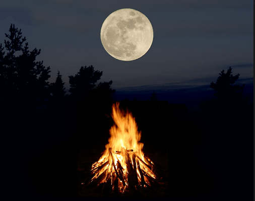 Lunar Eclipse Full Moon Fire Ceremony - Inviting Sachamama - Misha Almira
