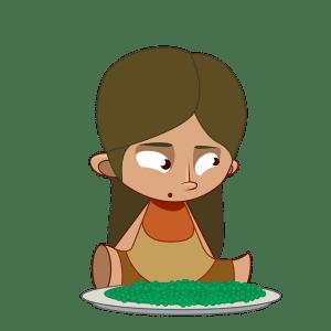Eat the Peas- Misha Almira