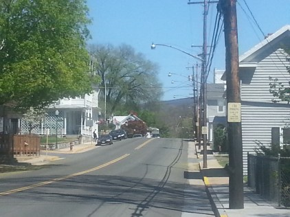 Main Street, looking north.