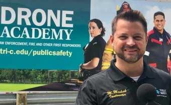 Matt Mishak Drone Academy Tri-C Cuyahoga Community College