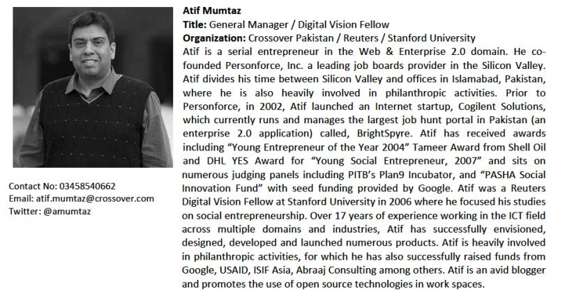 Atif Mumtaz Profile