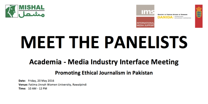 Meet the Panelists for the Academia-Media Indusry Interface