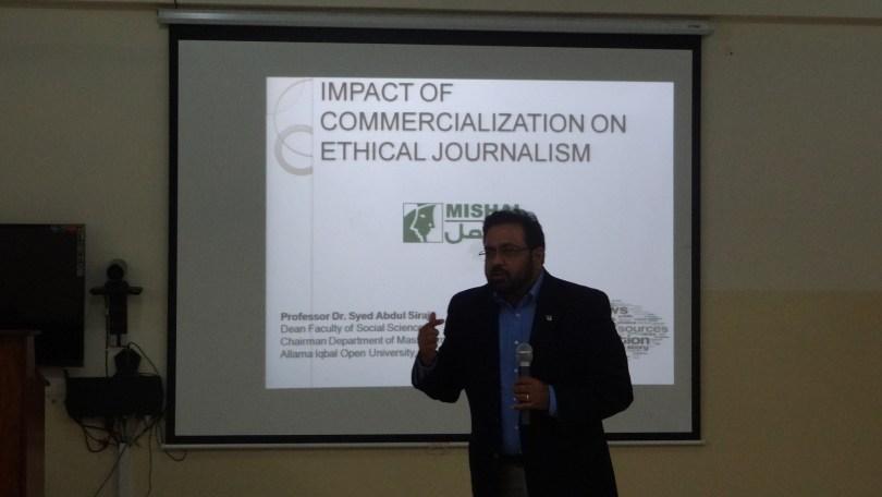 ethics of media in pakistan
