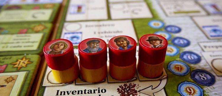 Campos de Arle Reseña - Tablero