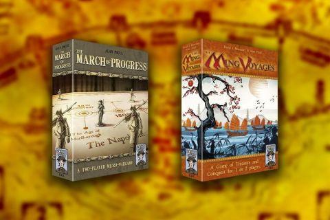 March of progress y Ming voyages juegos de mesa