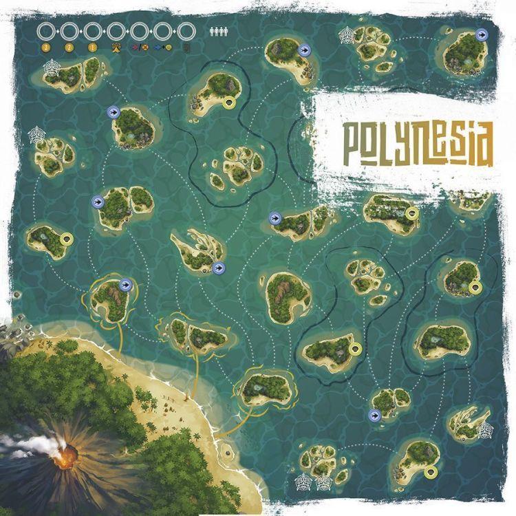 Polynesia Tablero