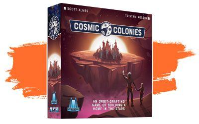 Cosmic Colonies - top juegos de mesa ligeros de 2020