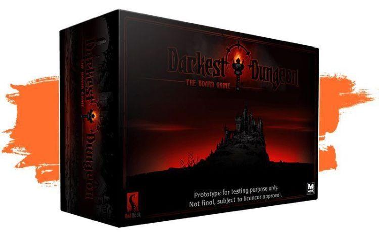 kickstarter Octubre segunda quincena Darkest Dungeon juego de mesa