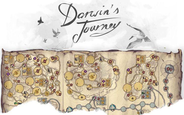 Mapa Darwins