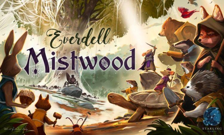 Everdell Kickstarter - Mistwood