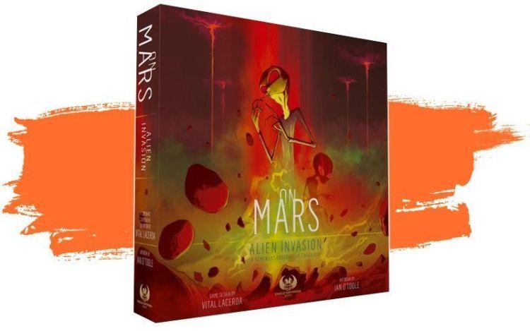 On Mars Alien Invasión - Portada
