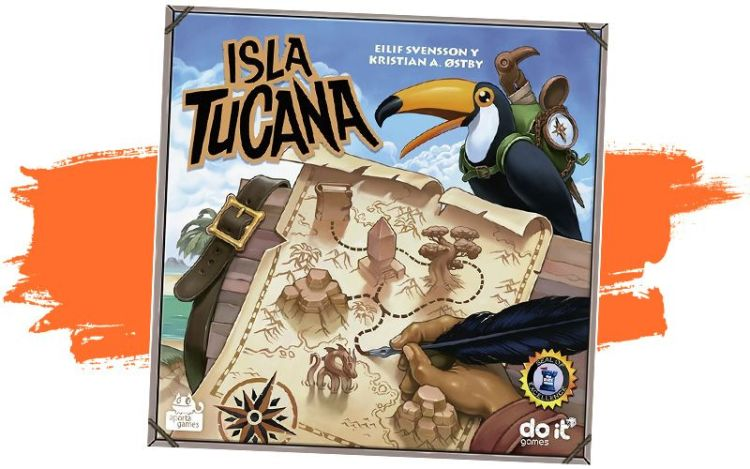 Reseña en español juego de mesa isla tucana