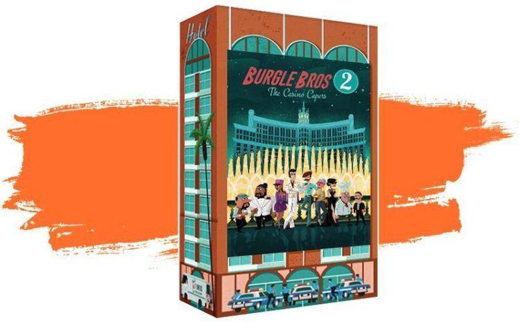 Novedades junio 2021 - Burgle Bros 2