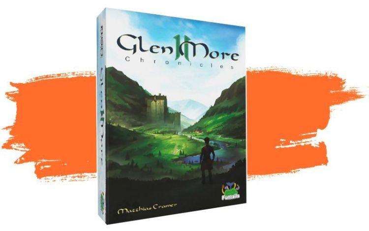 10 juegos de colocación de losetas - Glen More 2