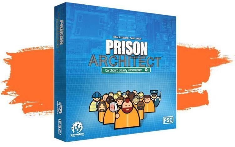 Prision Architect, caja del juego de mesa