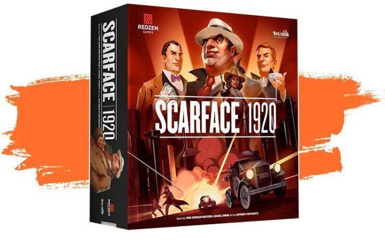 Scarface 1920 Juego de mesa en Kickstarter