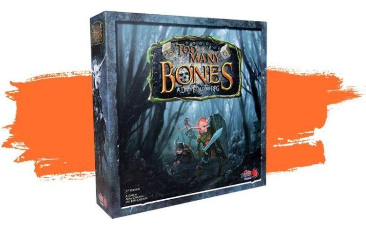 Caja del juego Too Many Bones