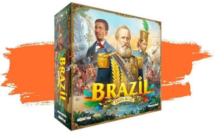 Brazil Imperial Maldito Games - Caja del juego