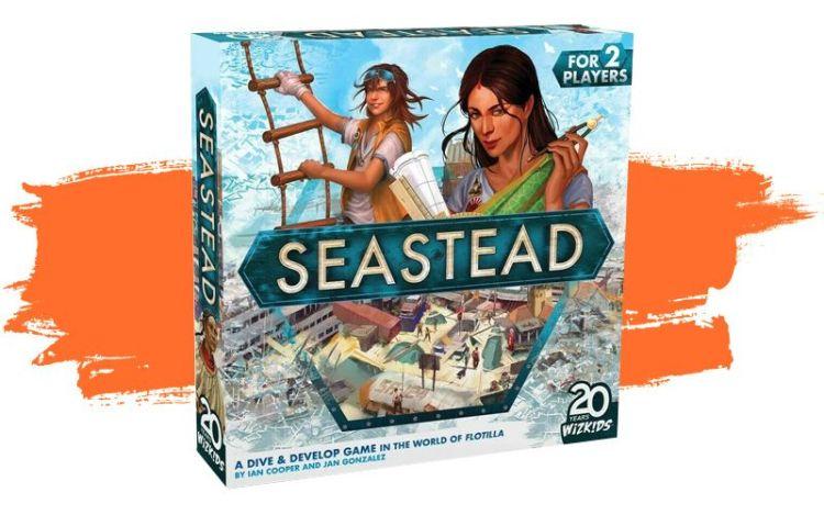 Seastead Maldito - caja de juego