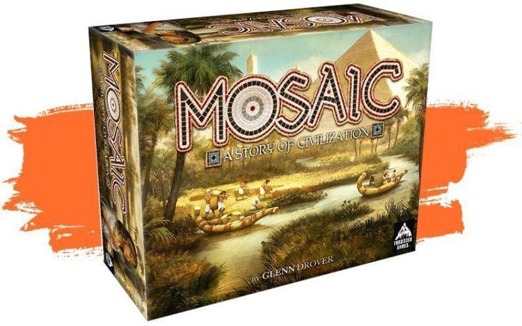 Mosaic Primeras impresiones -caja de juego