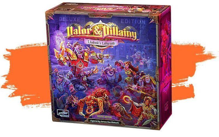 Valor & VIllainy - Kickstarter Junio segunda quincena 2021