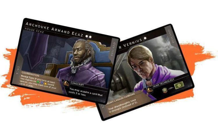 NUevos personajes y nuevas casas - Rise of Ix expansión