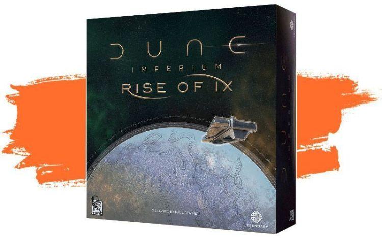 Rise of Ix expansión - caja del juego