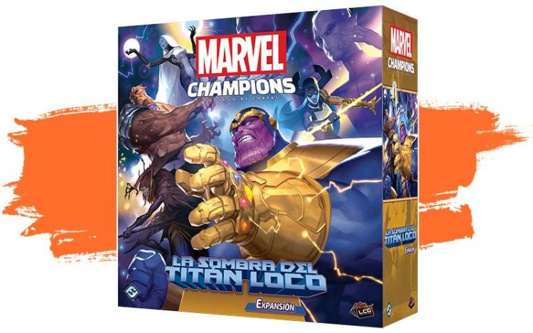 Marvel champions expansión caja grande