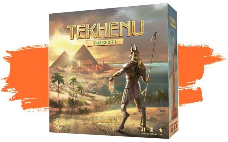 Tekhenu Time Seth expansión - portada de la caja del juego
