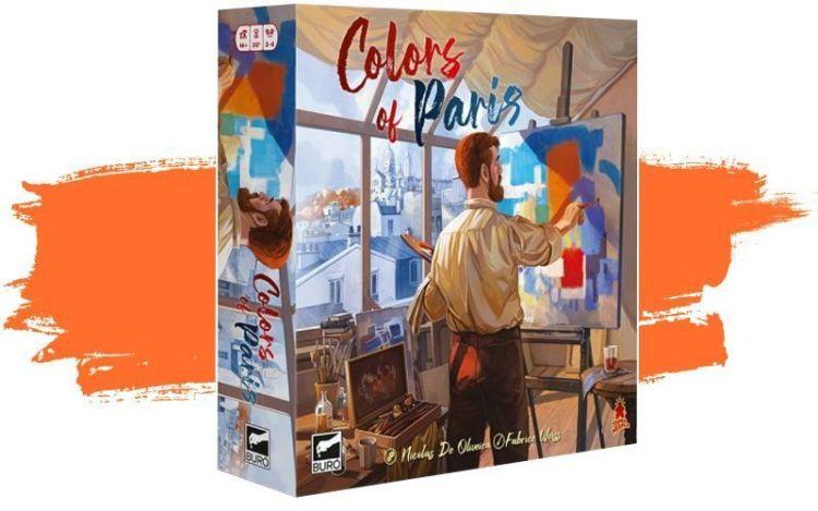 Colors of Paris de Buro juegos
