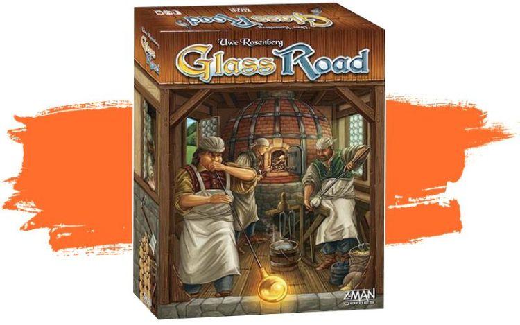 Glass road en español juego de mesa