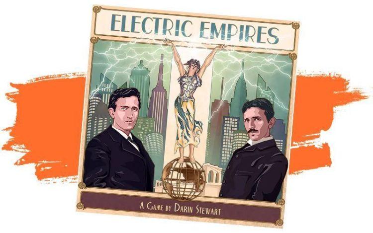 Electric Empires - Kickstarter primera quincena Octubre