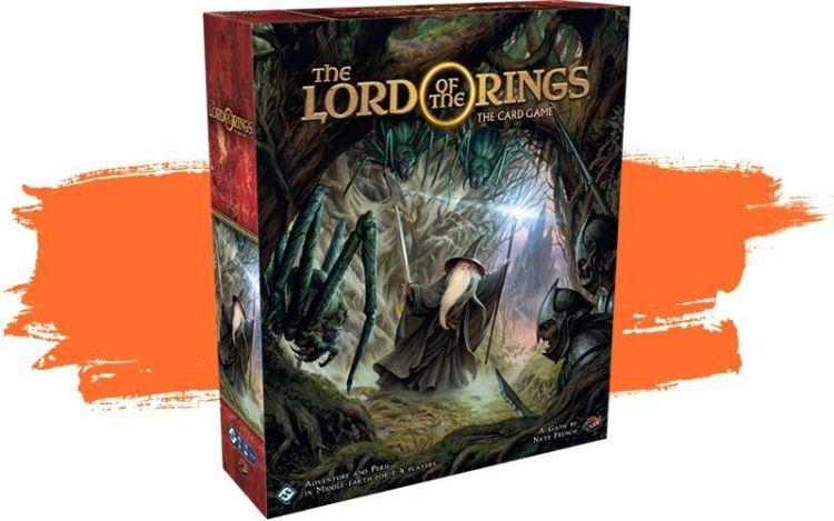 anuncios Fantasy Flight GENCON - El Señor de los anillos juego de cartas