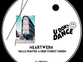 HeartWerk - Walls Painted A Deep Forest Green
