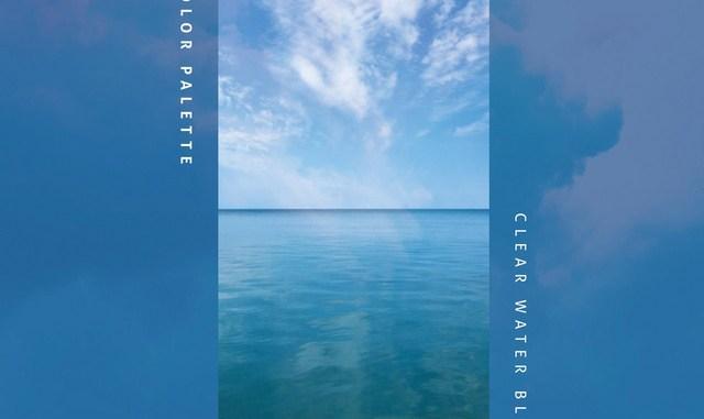 Color Palette - Clear Water Blue