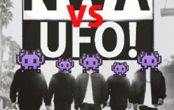 NWA vs UFO! Straight Outta Compton!
