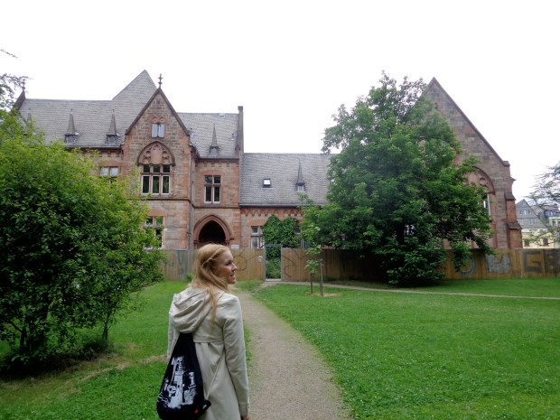 Walking around Marburg