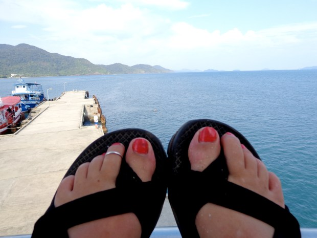 Chacos are good shoes for Southeast Asia