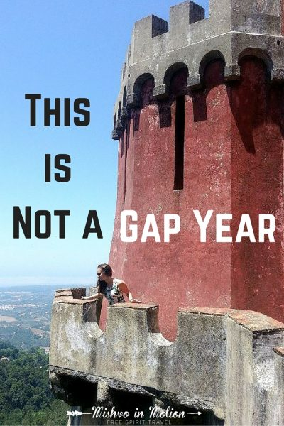 This is not a gap year. Gap years aren't a real thing.