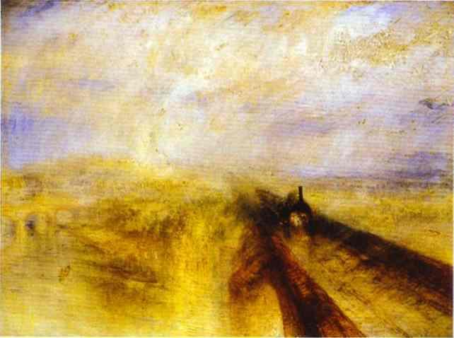 TURNER.-Rain, Steam, and Speed.-1884.-Museum Syindicate