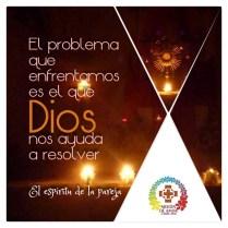 El problema que enfrentamos es el que Dios nos ayuda a resolver