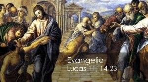 Lucas 11, 14-23