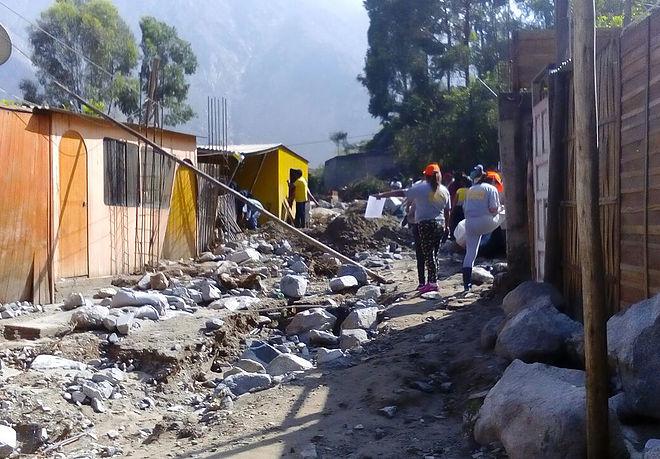 Inundaciones y deslaves en el Perú