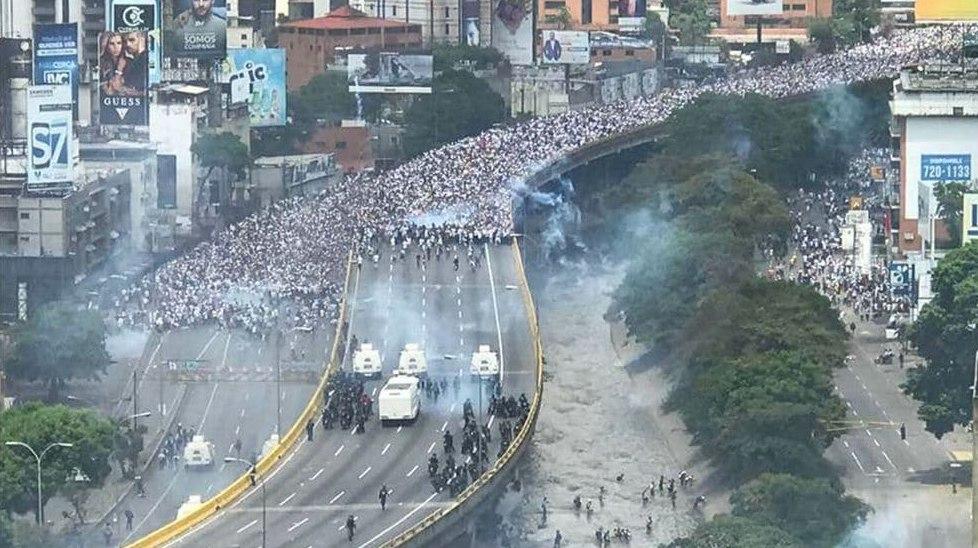 Protesta cívica Venezuela