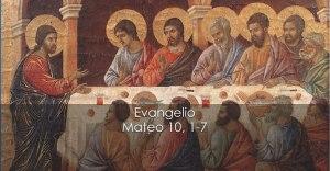 Mateo 10, 1-7